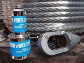 Революционный способ соединения стальных канатов без потери грузоподъёмности с применением компаунда WireLock